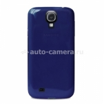 Чехол на заднюю крышку Samsung Galaxy S4 (i9500) PURO Crystal Cover, цвет blue (SGS4CRYBLUE)