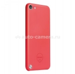 Чехол на заднюю панель iPod touch 5G Ozaki O!coat 0.4 Solid, цвет Red (OC611RD)