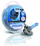 Галогенные лампы Philips H4 12v 60/55w Blue Vision Ultra 12342BVUSM 2 шт.