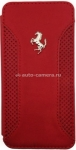 Кожаный чехол для iPhone 6 Ferrari F12 Booktype, цвет Red (FEF12FLBKP6RE)