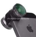 Объектив для iPhone 5 / 5S Olloclip 4 in 1, цвет space gray (OCEU-IPH5-FW2M-GYB)