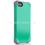 Противоударный чехол для iPhone 5 / 5S Ballistic Aspira Series, цвет mint green/strawberry pink (AP1085-A035)