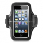 Спортивный чехол для iPhone 5 / 5S Belkin Slim Fit Plus Armband, цвет black (F8W299vfC00)