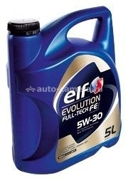 Масло Elf 5W-30 Evolution Full-Tech FE 3267025010613, 5л